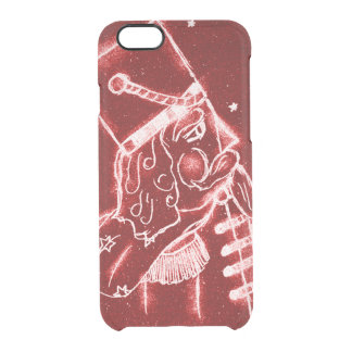 Nutcracker Toy Soldier in Bright Red Clear iPhone 6/6S Case