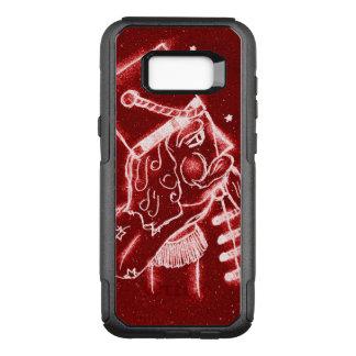 Nutcracker Toy Soldier in Bright Red OtterBox Commuter Samsung Galaxy S8+ Case