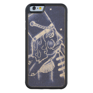 Nutcracker Toy Soldier in Light Blue Carved Maple iPhone 6 Bumper Case