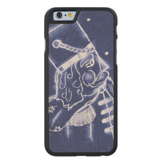 Nutcracker Toy Soldier in Light Blue Carved Maple iPhone 6 Case