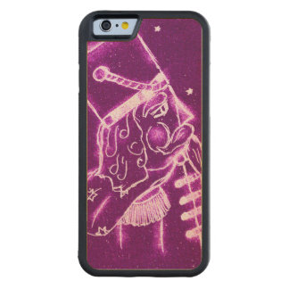 Nutcracker Toy Soldier in Magenta Carved Maple iPhone 6 Bumper Case