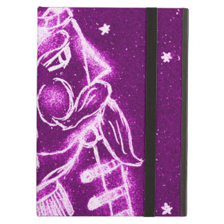 Nutcracker Toy Soldier in Magenta Cover For iPad Air