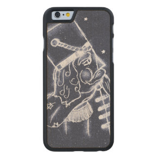 Nutcracker Toy Soldier in Medium Blue Carved Maple iPhone 6 Case