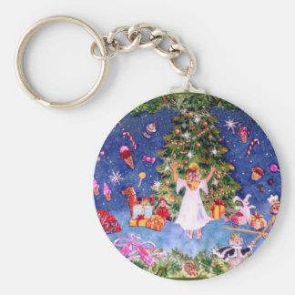 Nutcracker Tree Keychain