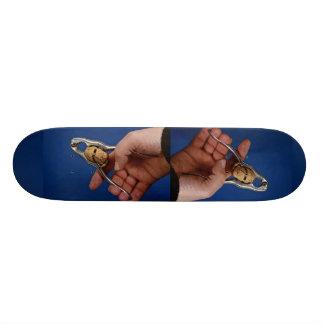 Nutcrackers in use skate board