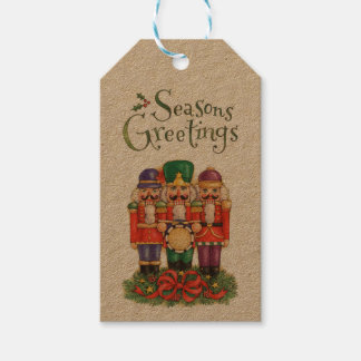 Nutcrackers Pack Of Gift Tags