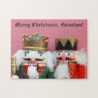 Nutcrackers with polka dots jigsaw puzzle
