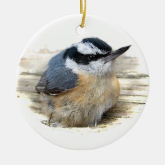 Nuthatch Christmas Ornament