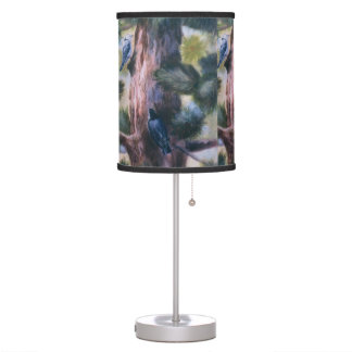Nuthatch Love At First Sight Table Lamp