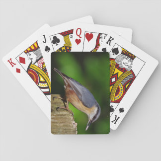 Nuthatch Playing Cards