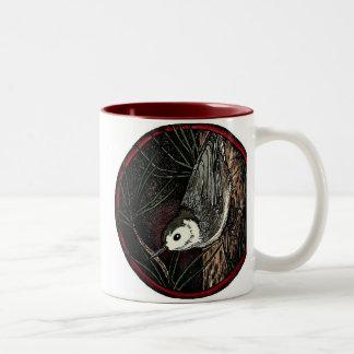 Nuthatch Winter Bird Mug (large)