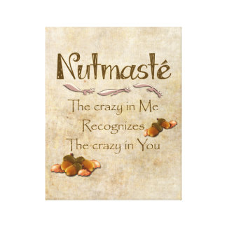 Nutmaste Canvas Print