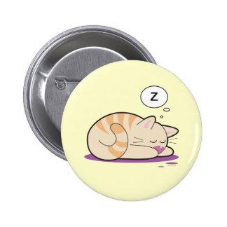 Nutmeg 2 Inch Round Button