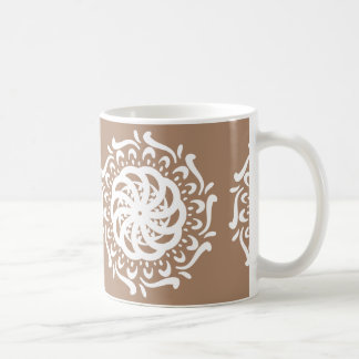 Nutmeg Mandala Coffee Mug