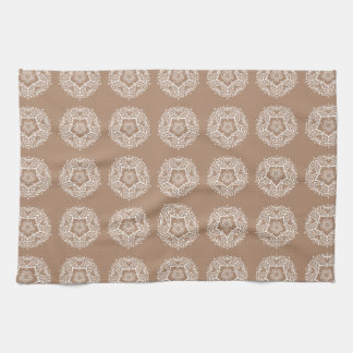 Nutmeg Mandala Kitchen Towel