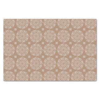 Nutmeg Mandala Tissue Paper