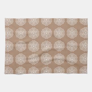 Nutmeg Mandala Towel