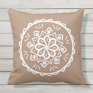 Nutmeg Outdoor Pillow