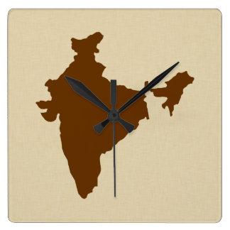 Nutmeg Spice Moods India Clocks