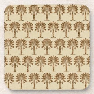 Nutmeg Spice Moods Palm Coaster