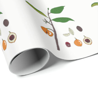 Nutmeg Tree Wrapping Paper