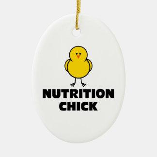 Nutrition Chick Ceramic Ornament
