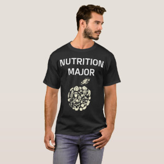 Nutrition Major College Degree T-Shirt