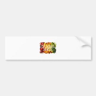 Nutrition Month - Appreciation Day Bumper Sticker
