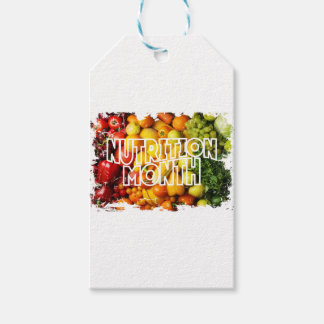 Nutrition Month - Appreciation Day Pack Of Gift Tags