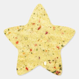 Nutritional Flavor Enhancer texture Star Sticker