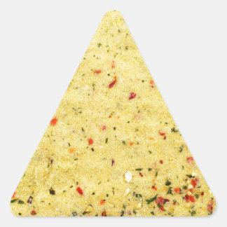 Nutritional Flavor Enhancer texture Triangle Sticker