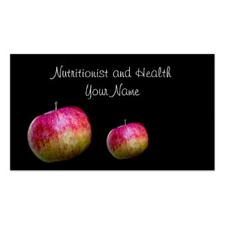 Nutritionist and Health Business Card