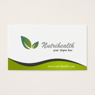 Nutritionist - Business Cards