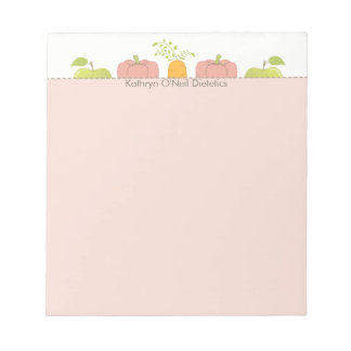 Nutritionist or Dietician Messages Notepad