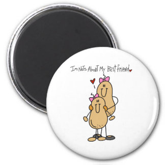 Nuts About Best Friend 2 Magnet