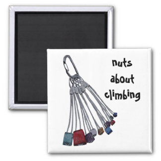 Nuts About Climbing Magnet