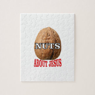 nuts about Jesus Jigsaw Puzzle