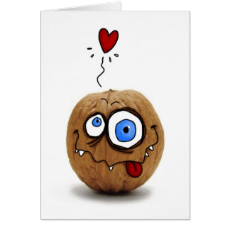 """""""nuts about you"""" card"""