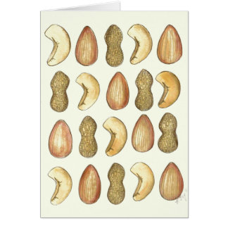 Nuts About You Valentine's Day Cards