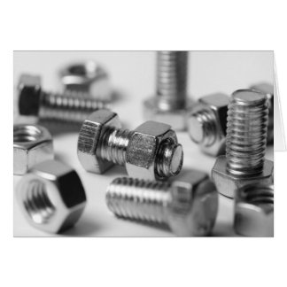 Nuts and Bolts Note Card