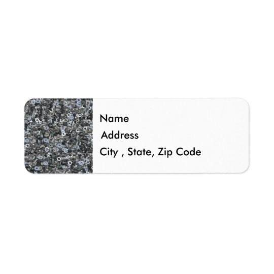 Nuts and Bolts Return Address Label