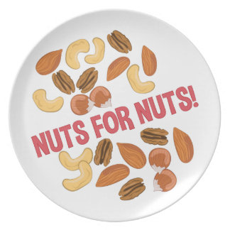 Nuts For Nuts Dinner Plate
