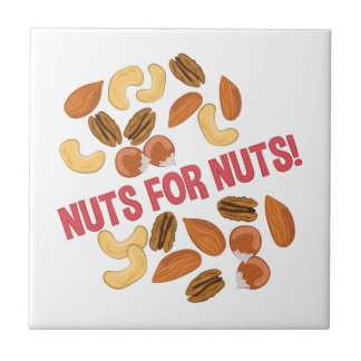 Nuts For Nuts Tile