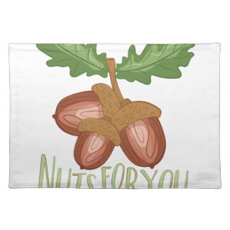 Nuts For You Placemat