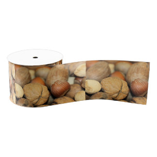 Nuts Grosgrain Ribbon