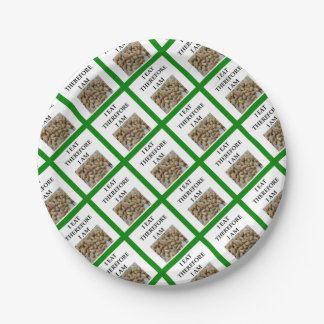 nuts paper plate