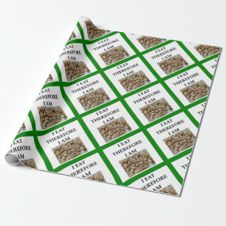 nuts wrapping paper