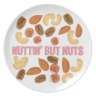 Nuttin But Nuts Dinner Plate
