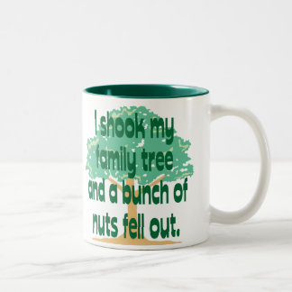 Nutty Family Two-Tone Coffee Mug