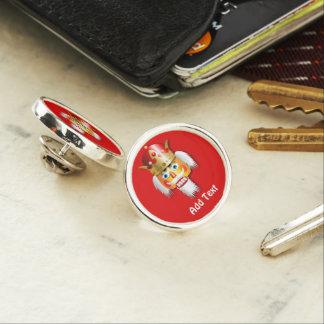 Nutty Nutcracker King Lapel Pin